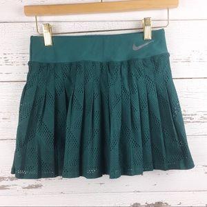 NIKE DriFit Pleated Tennis Skirt Shorts Skort Golf